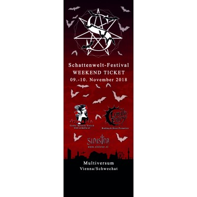 Schattenwelt Festival 2018 Weekend-Ticket