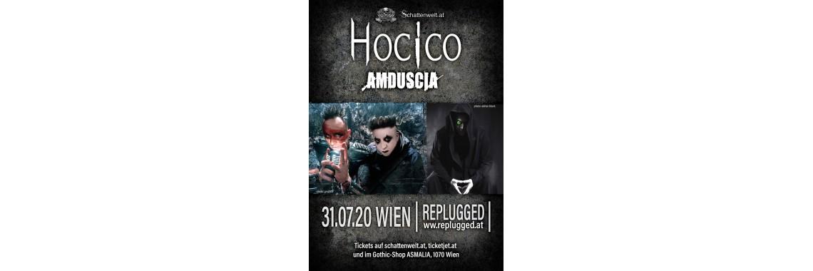 Hocico & Amduscia, 31.8.2020 Tickets