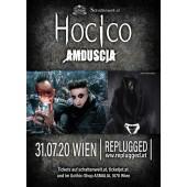 """Hocico & Amduscia (MEX) live in Wien """"VERSCHOBEN""""!"""