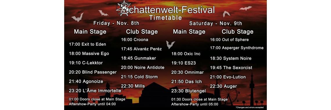 Schattenwelt Festival Tickets 2019